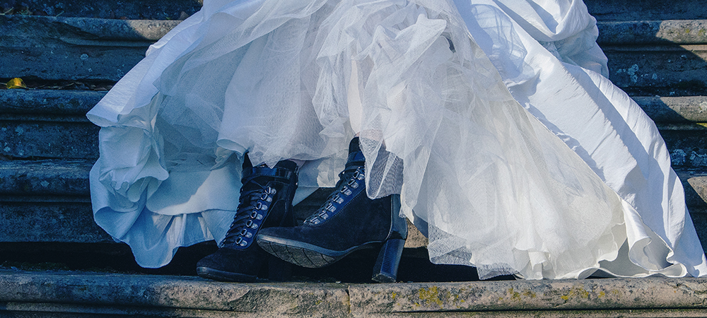 MARC Shoes Damen Women Shoes Fashion Wedding Hochzeit Gothik Black Märchen